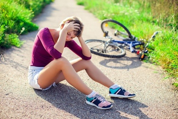 Reduce the risks of head injury during a biking accident.
